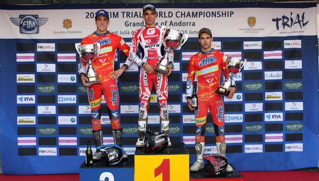 Andorra 1 2013 podio junior