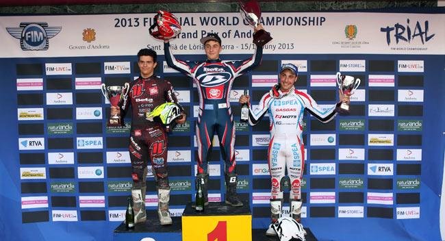 Andorra 1 2013 podio juvenil