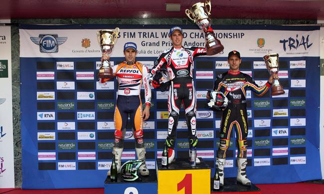 Andorra 1 2013 podio top
