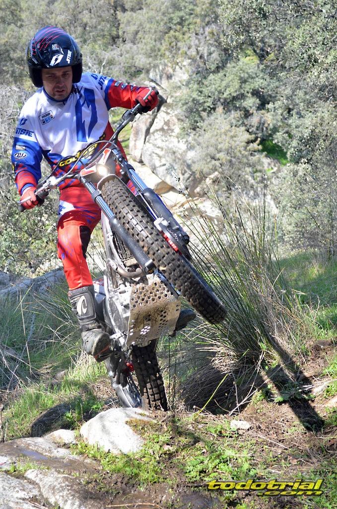 prueba de motos de trial en todotrial
