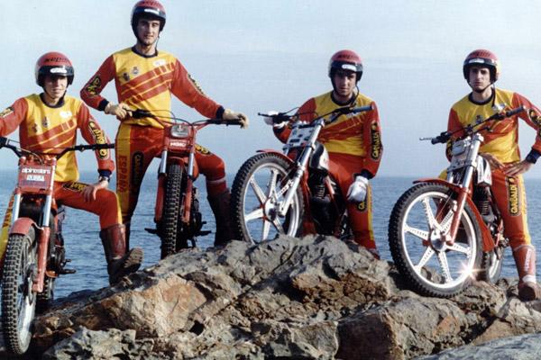 equipo-espana-trial-naciones-tdn-1985-tarres-gallach-codina-freixas