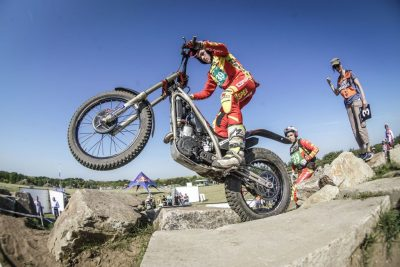 Alex Canales piloto de trial