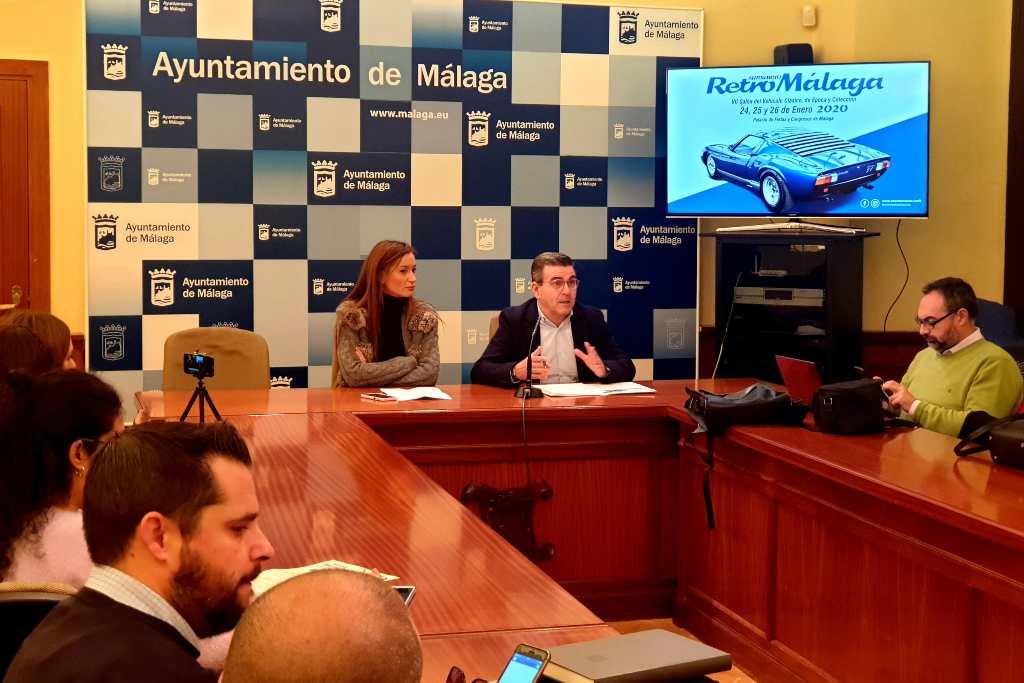 Presentación Retro Málaga 1