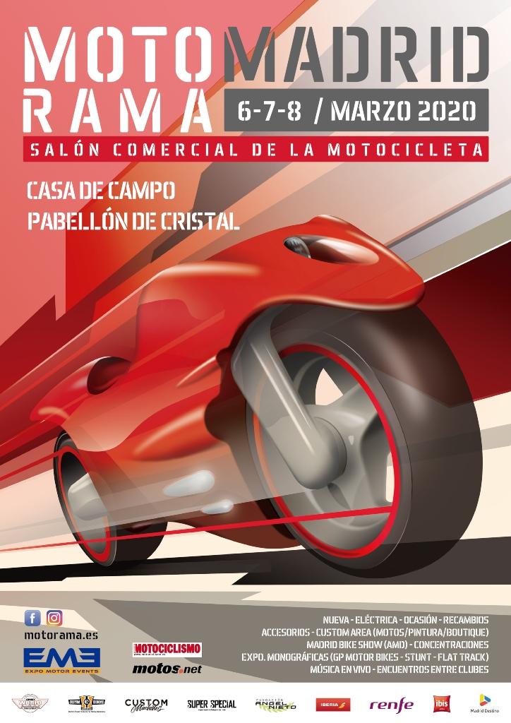 Cartel Motorama Madrid 2020