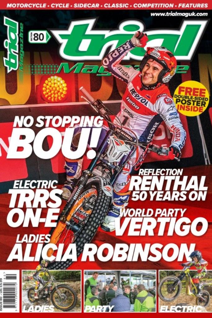 Trial Magazine 80 portada