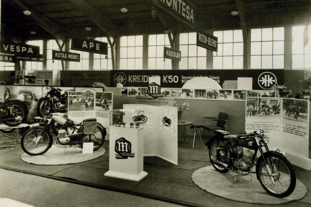 Salon-de-Ginebra-1953-stand-montesa