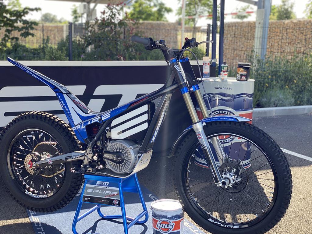 Moto de trial Epure Comp 2021 trial