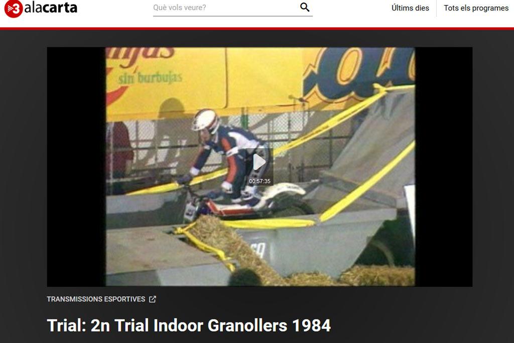 trial indoor granollers 1984