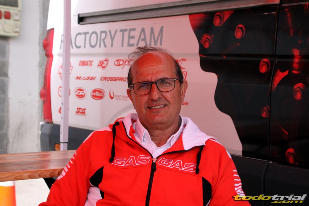 Albert Casanovas, GasGas Sales Manager