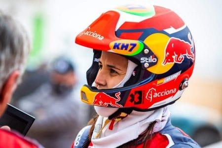  Photographer: Eder Fernandez Event: Preseason Testing Circuit: MotorLand Aragon Location: Alcaniz Series: Extreme E Country: Spain Season: 2020 Keyword: 2020 Team: Acciona Sainz XE Team Car: Spark ODYSSEY 21 Driver: Laia Sanz 