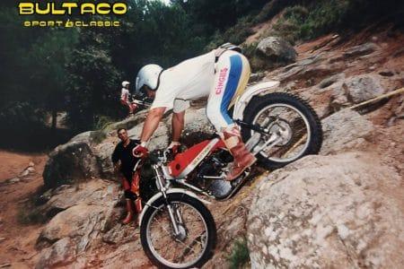 Rafael Esteve en el I Trial Bultaco