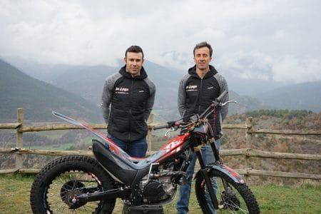 Toni Bou y Jordi Pascuet