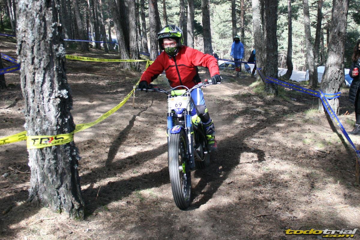 Oriol Serrano en la segunda prueba del Campeonato de Andorra