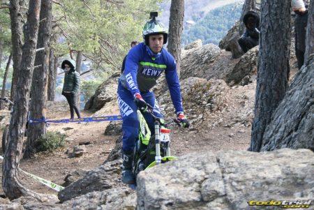Mario Román en la segunda prueba del Campeonato de Andorra