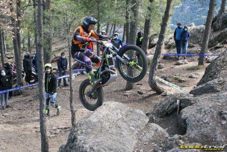 Quim Altès en la segunda prueba del Campeonato de Andorra