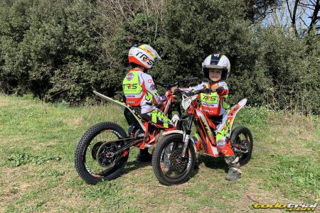 trial niños moto