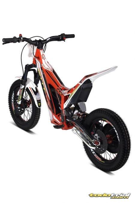 moto de trial electrica infantil rueda pequeña