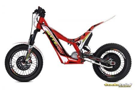 moto de trial electrica infantil trs