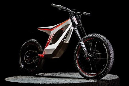 motorcycle bicycle electric offroad prototype