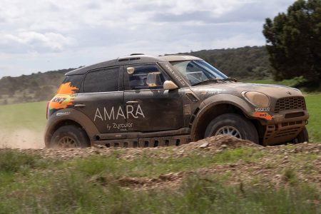 El Mini John Cooper Works Rally del potente equipo X-raid