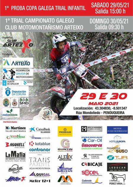 campeonato gallego de trial 2021 arteixo