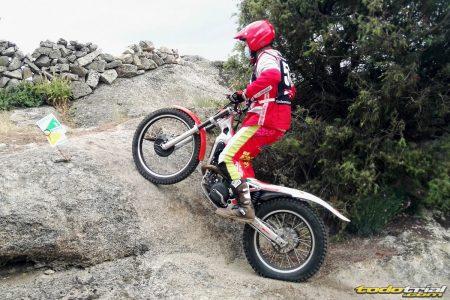 Alberto Perez, vuelta al trial 25 años después y podio en TR3