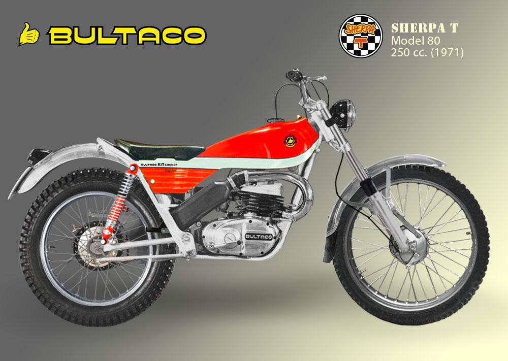 Bultaco Sherpa T Modelo 80 Kit