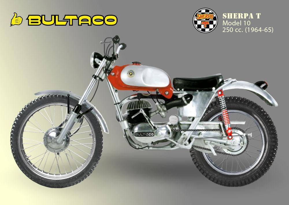 Bultaco Sherpa T Modelo 10, 1965