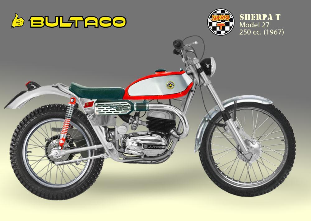 Bultaco Sherpa T modelo 27 San Antonio