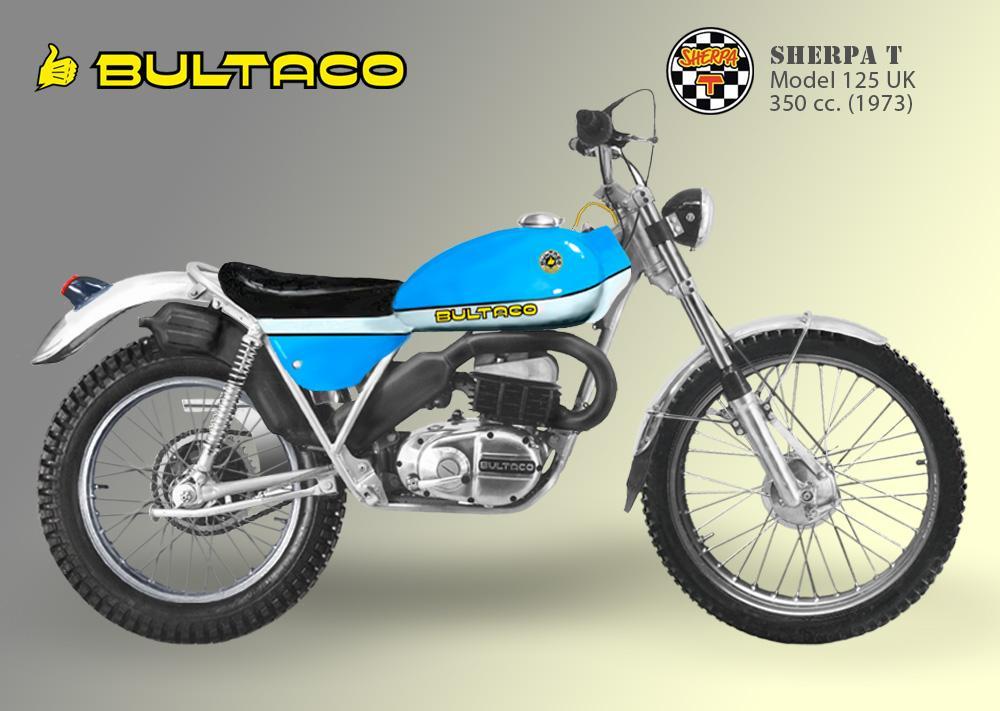 Bultaco Sherpa T modelo 125 UK