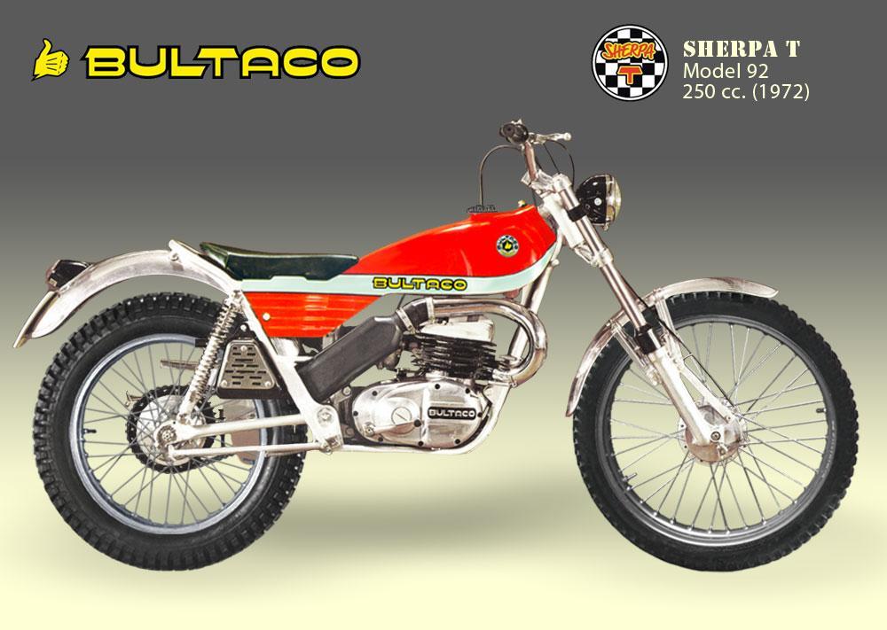 Bultaco Sherpa T modelo 92