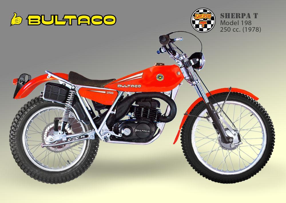 Bultaco Sherpa T model 198
