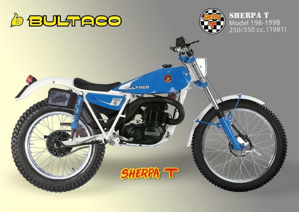 Bultaco Sherpa T model 199B