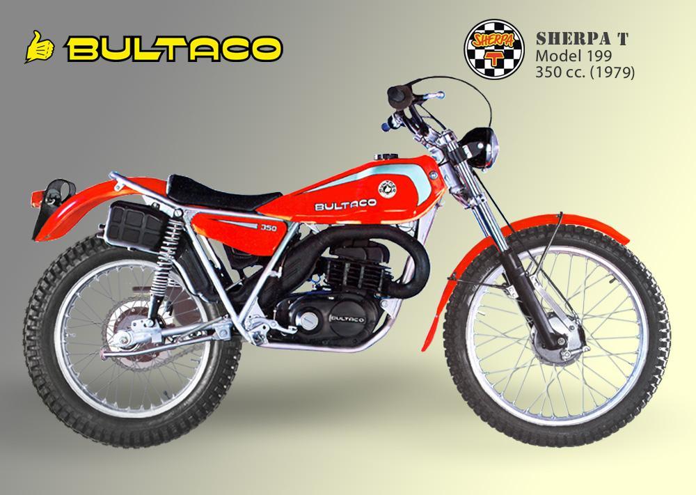 Bultaco Sherpa T model 199
