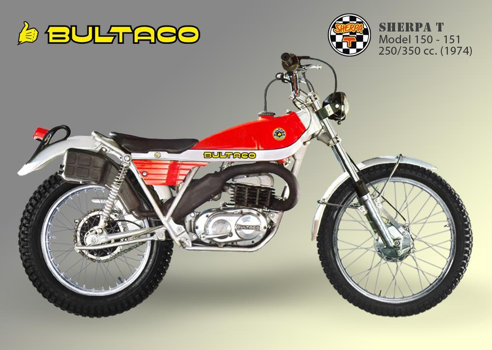 Bultaco Sherpa T model 150