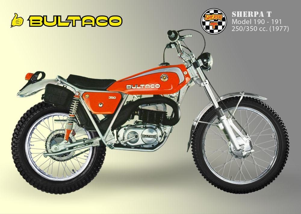 Bultaco Sherpa T model 190