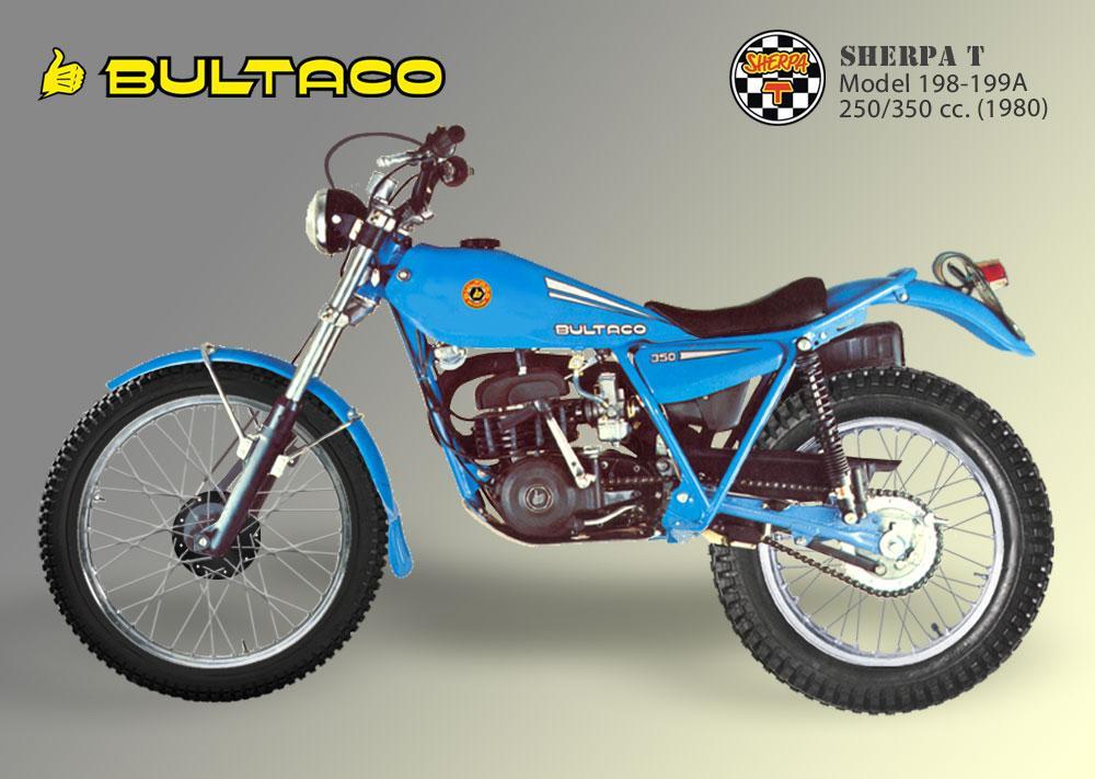 Bultaco Sherpa T model 199A