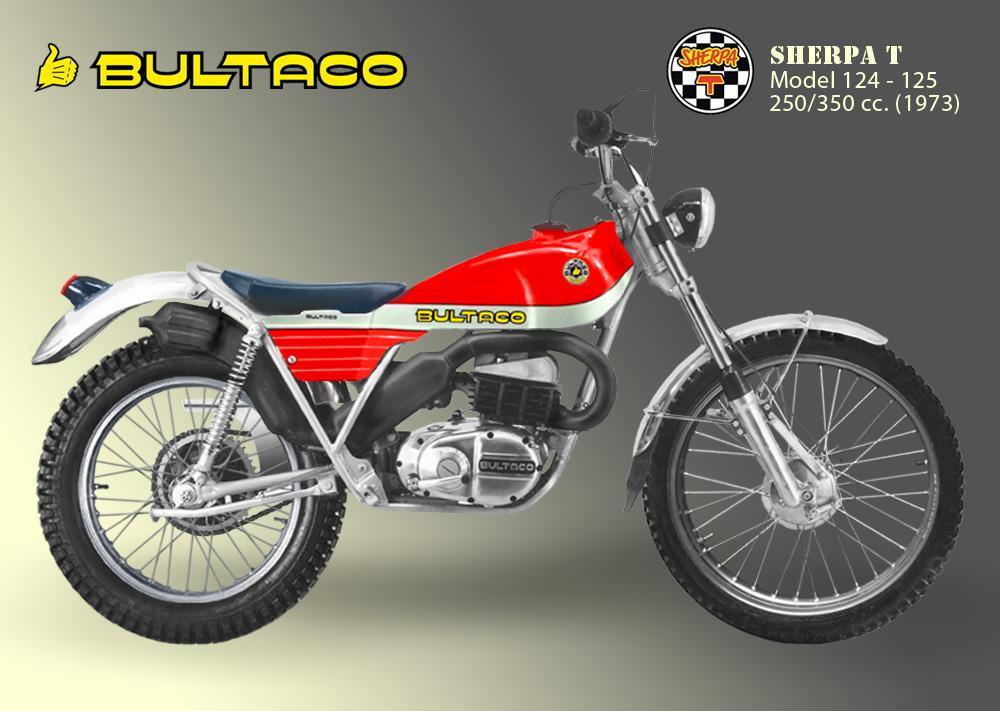 Bultaco Sherpa T model 125